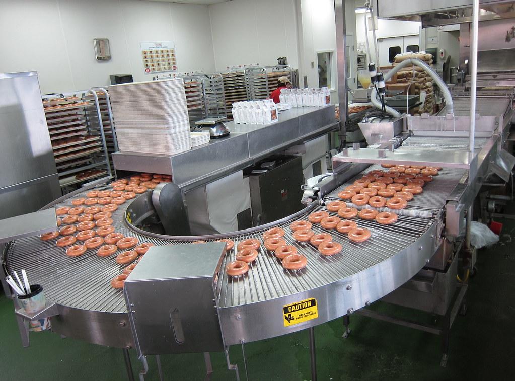 Krispy Kreme Assembly Line