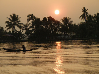 Kerala Backwaters Sunset