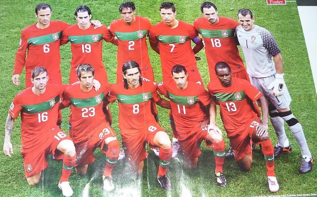 Jogadores da Selecção Portuguesa do Campeonato do Mundo- 2010