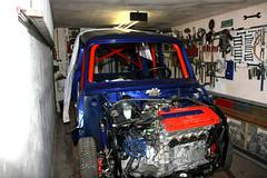 Budzen´s Classic Mini Umbau [Honda V-Tec Motor