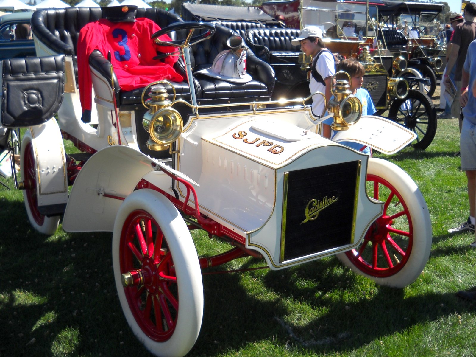 1905 Cadillac Sjfd Fire Chief Car 5 Flickr Photo Sharing