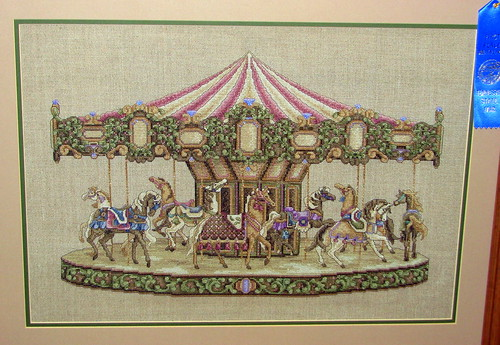 09 TN State Fair #122: Carousel Stitching