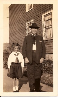 My Mother and Great Uncle John Klecka in Traditional Czech outfit