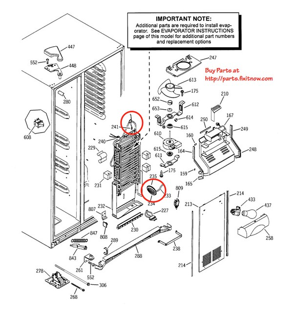 wiring diagram ge side by side refrigerators  u2013 the wiring