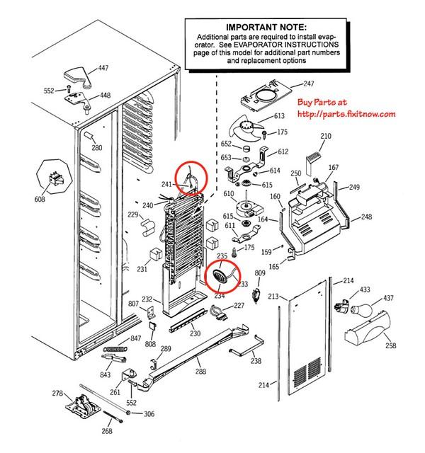 similiar ge profile arctica refrigerator parts keywords, Wiring diagram