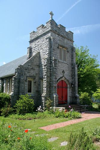 virginia stonework may churches abingdon 2007 washingtoncounty nrhp stthomasepiscopalchurch may2007 episcopalchurches stonechurches