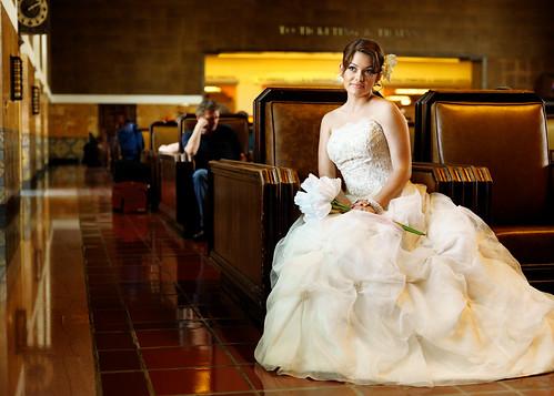 無料写真素材, 人物, 女性, ウエディングドレス, アメリカ人