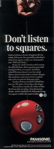 Panasonic Panapet R-70 Nov 70 Half Page Ad
