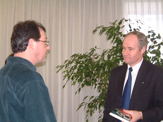 Phil Sheffield Meets The Lithuanian Minister For Education