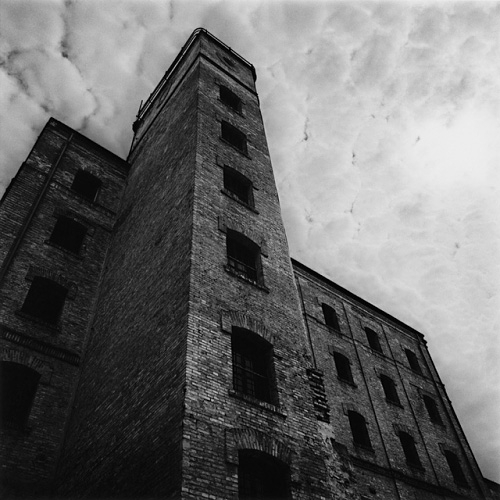 Factory Building, San Sabba, Italy, by Michael Kenna 2000