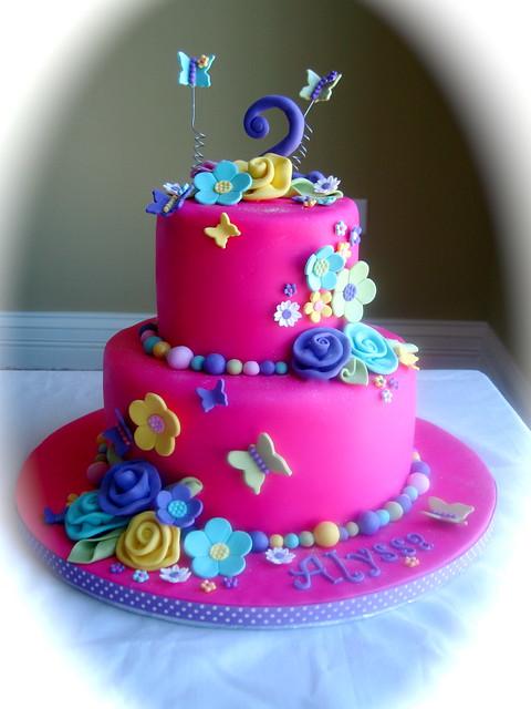 Birthday Cake With Butterflies MyDrLynx