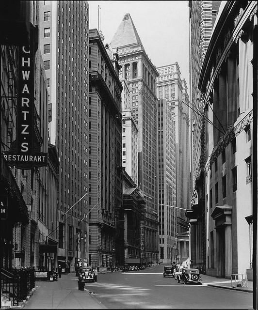 Broad St, by Berenice Abbott 1936