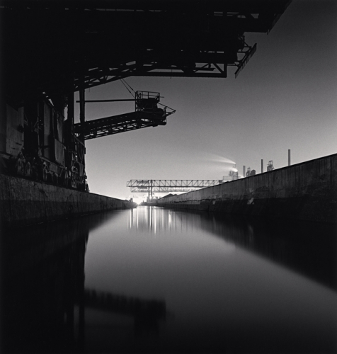 The Rouge, Study 16, Dearborn, by Michael Kenna 1993
