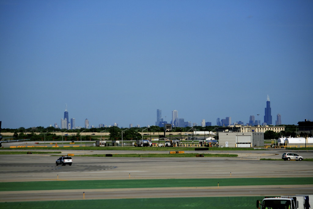 Downtown from O'Hare