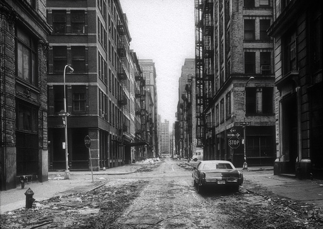Crosby Street, by Thomas Struth 1978