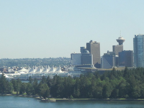 Vancouver skyline from the Lions Gate Bridge