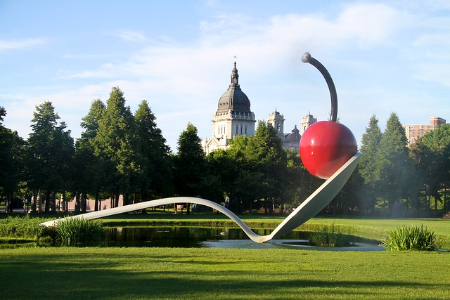 Giant Spoon and Cherry