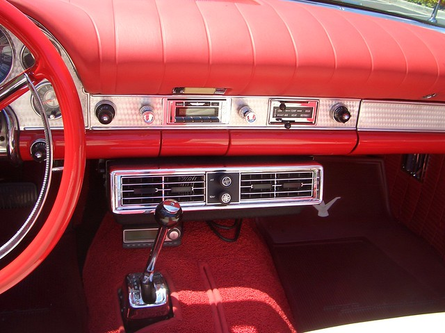 Seat For Ford 881 : My ford thunderbird interior a c flickr photo