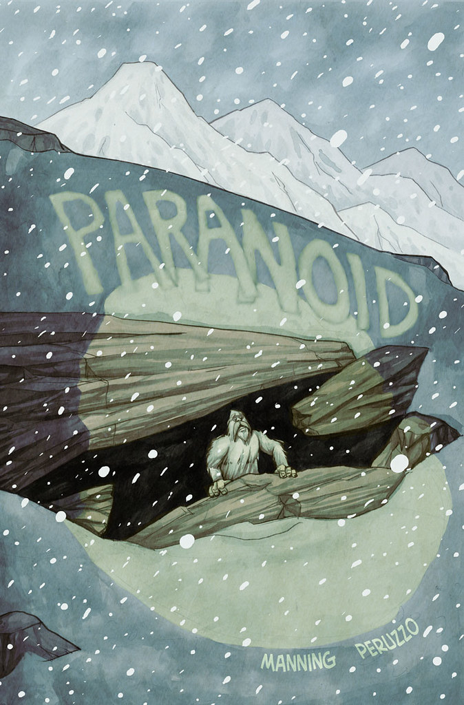 Paranoid cover illustrated by Anthony Peruzzo