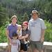 At Fish Creek Falls in Steamboat Springs, CO