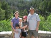 At Fish Creek Falls in Steamboat Springs, CO