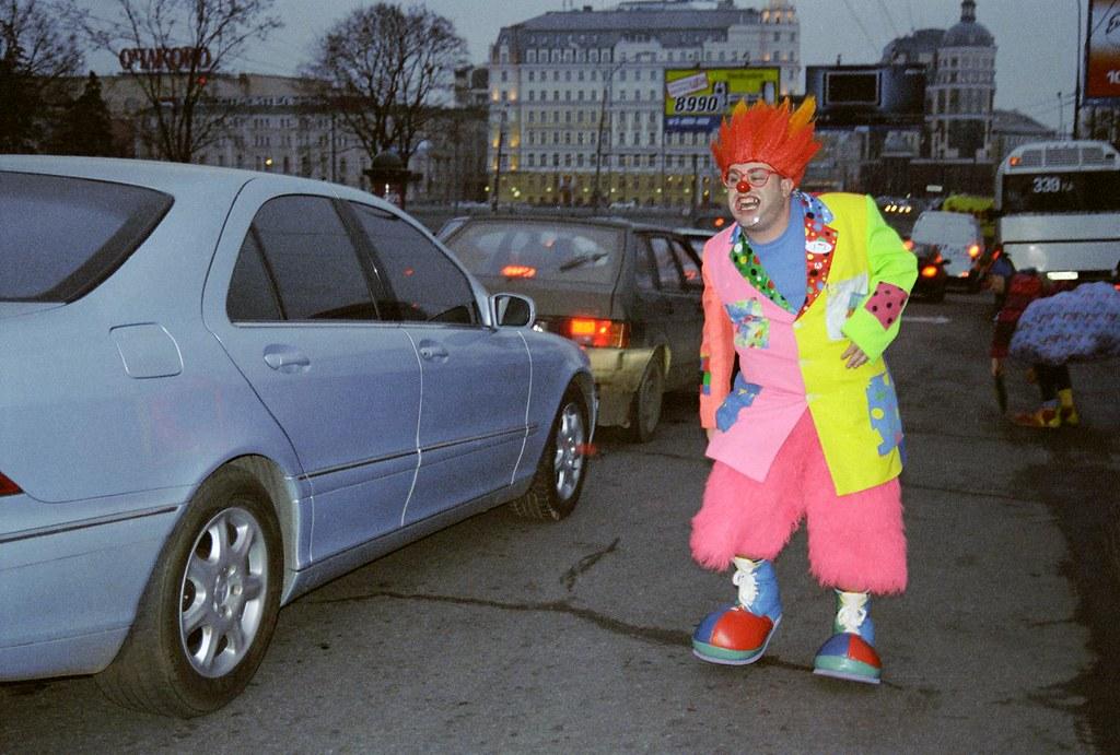 JJ 4(John Glick/Russia Clown Trip 2004)