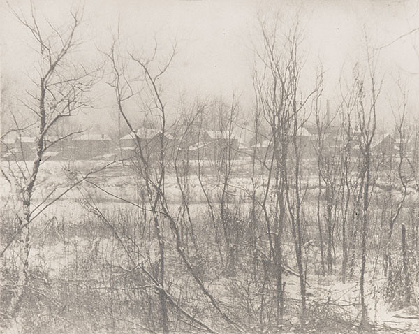 Landscape - Winter, by Clarence H. White 1908