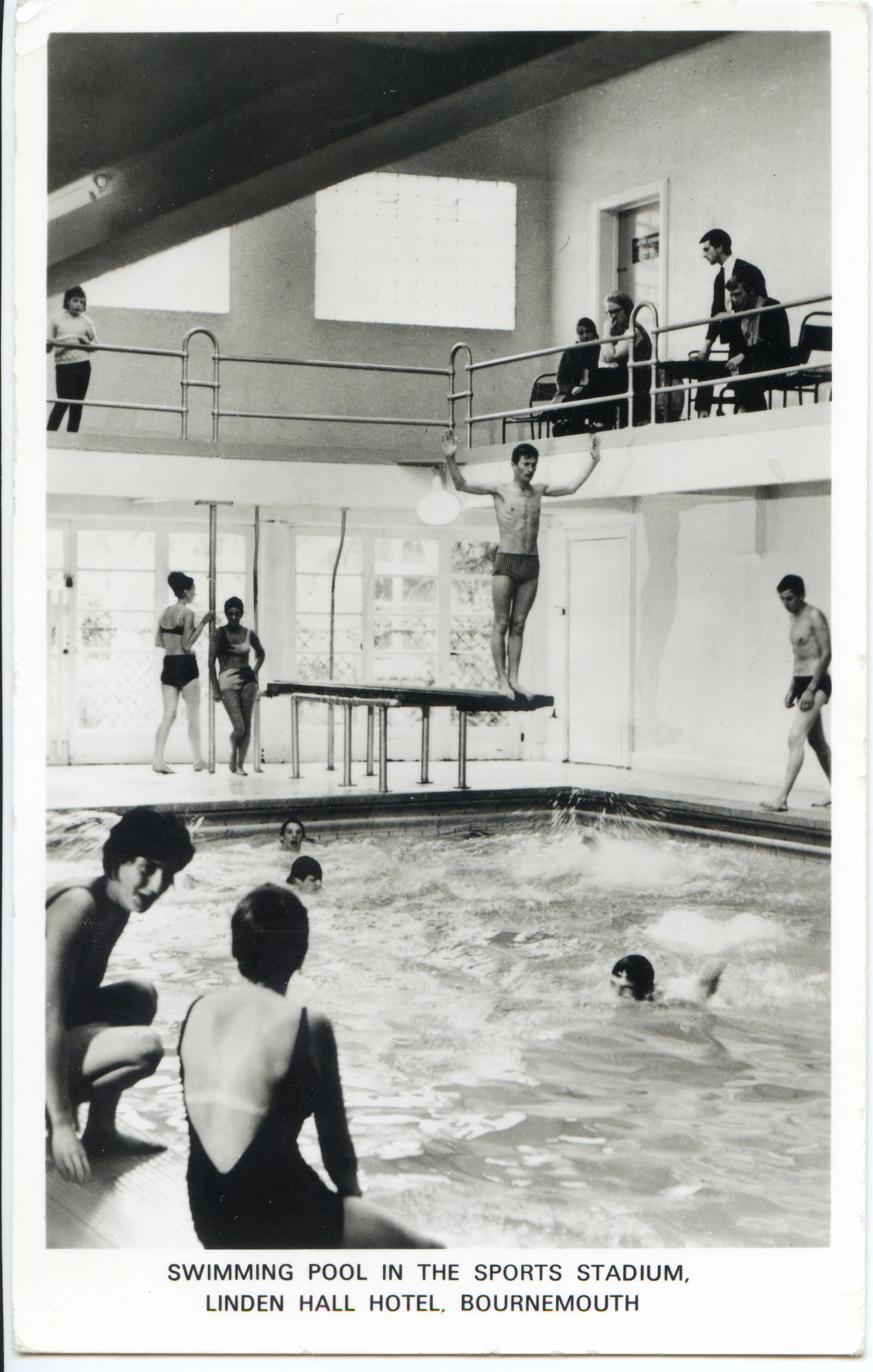 Linden hall hydropathic hotel linden hall hydro linden - Public swimming pools bournemouth ...