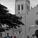 Torre de la iglesia de Santo Domingo B/N
