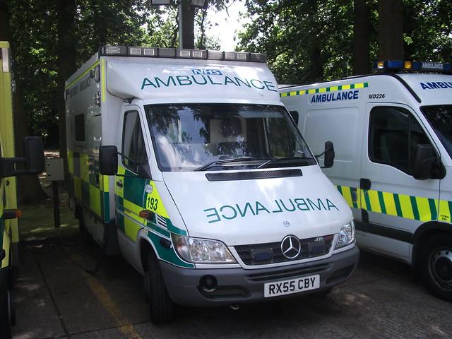 Rx55cby South East Coast Ambulance Service Mercedes