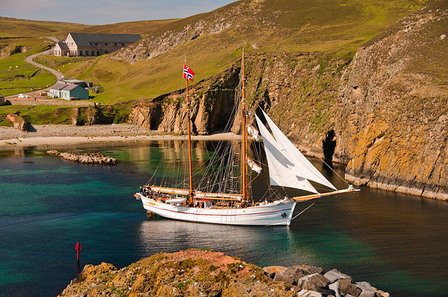 Norwegian sailing pram