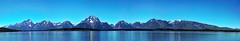Teton Mountain Range Panorama