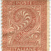 Italy postage stamp: due centesimi