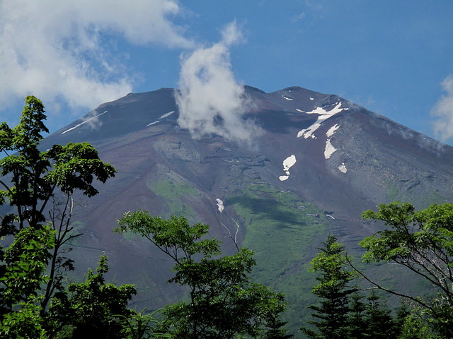 Walking in Yamanashi - July 19, 2010 : Mt. Fuji