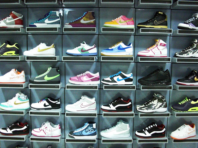 Wall of Nike
