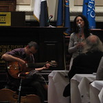 Bethany & Rufus perform at the New York City Bar Association in Celebration of International Justice Day