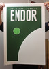 Endor -Screen Print by justinvg