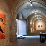 Angers - expo Artaq - Abbaye du Ronceray