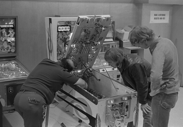 Fixing a Pinball Machine_Fall 72