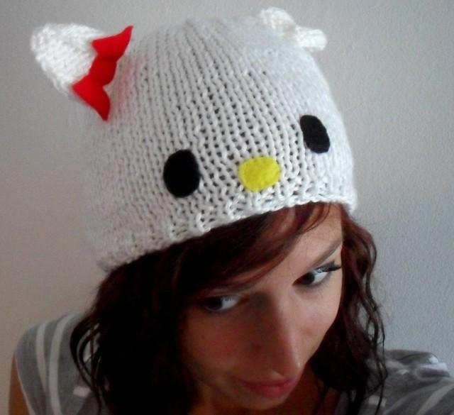 Knitting Games Hello Kitty : Hello kitty hat anniehpilon spot wattlebird