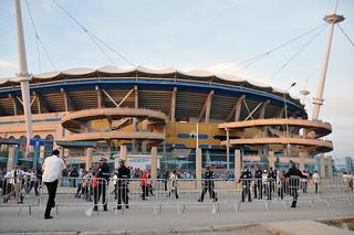 Vue de l'exterieure du stade de Radès