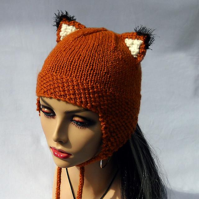 Knitting Pattern For Fox Hat : 4826067164_84045452b7_z.jpg