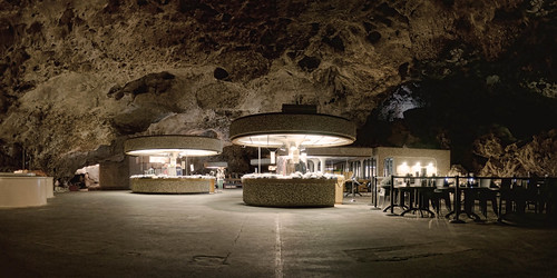 Mysterious New Mexico The Restaurant Inside Carlsbad Caverns