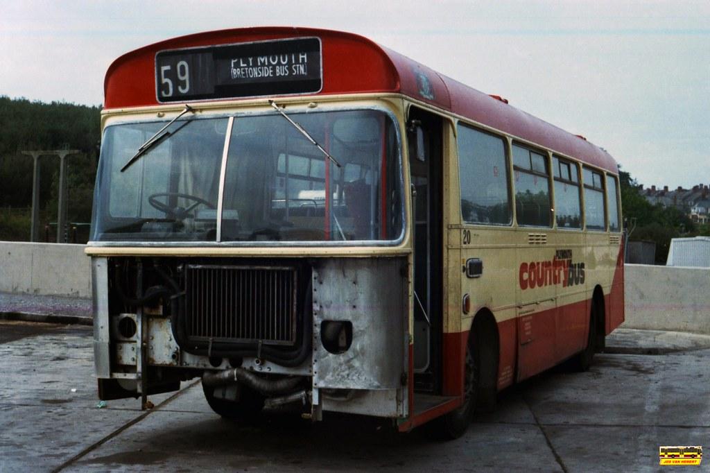 PCB Bristol LH 20 (Ex-WN 1595) - Ply., Garage PCB - 07-1984