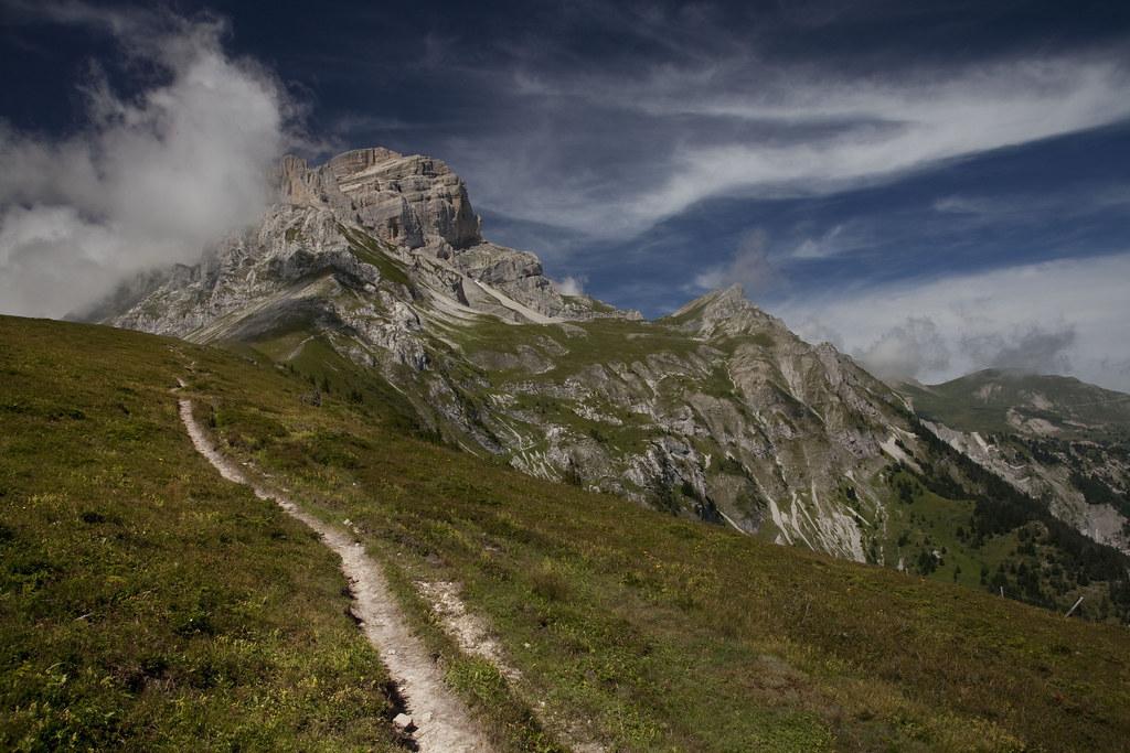 Le sentier de l'Obiou