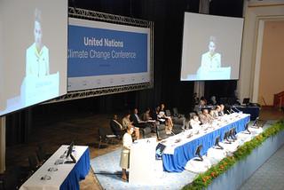 Christiana Figueres, UNFCCC Executive Secretary speaks at opening plenary session