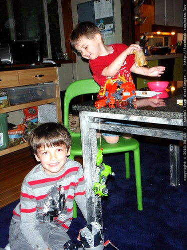 kids & transformers