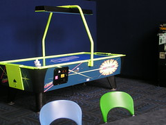 play(0.0), recreation(0.0), pool(0.0), laser(0.0), indoor games and sports(1.0), table(1.0), games(1.0), air hockey(1.0), lighting(1.0),