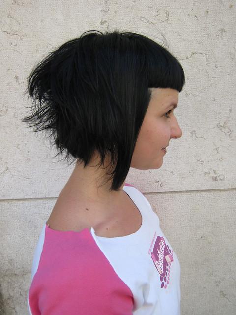 ... asymmetrical bob haircut back view of asymmetrical bob asymmetric bob