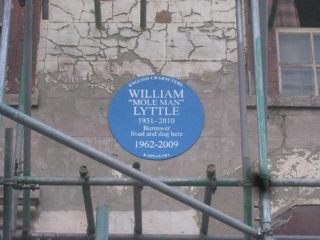 Photo of William Lyttle blue plaque
